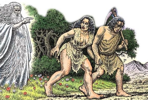 Robert-Crumb-Adam-and-Eve