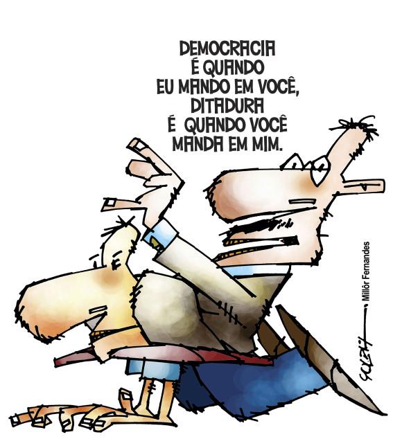 ditadura-democracia-millôr