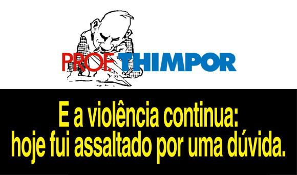 Prof. Thimpor duvida
