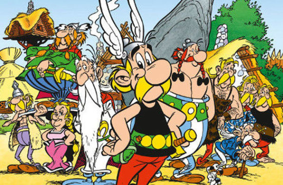 Asterix - toda a turma